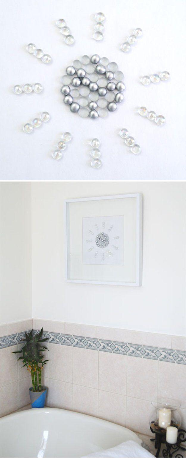 Decorating on a Budget | Diy bathroom decor, Budgeting and Diy wall ...