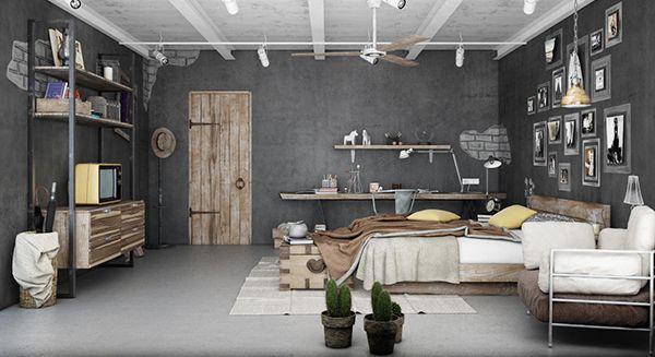 blog inspiratie industrià le slaapkamers marington