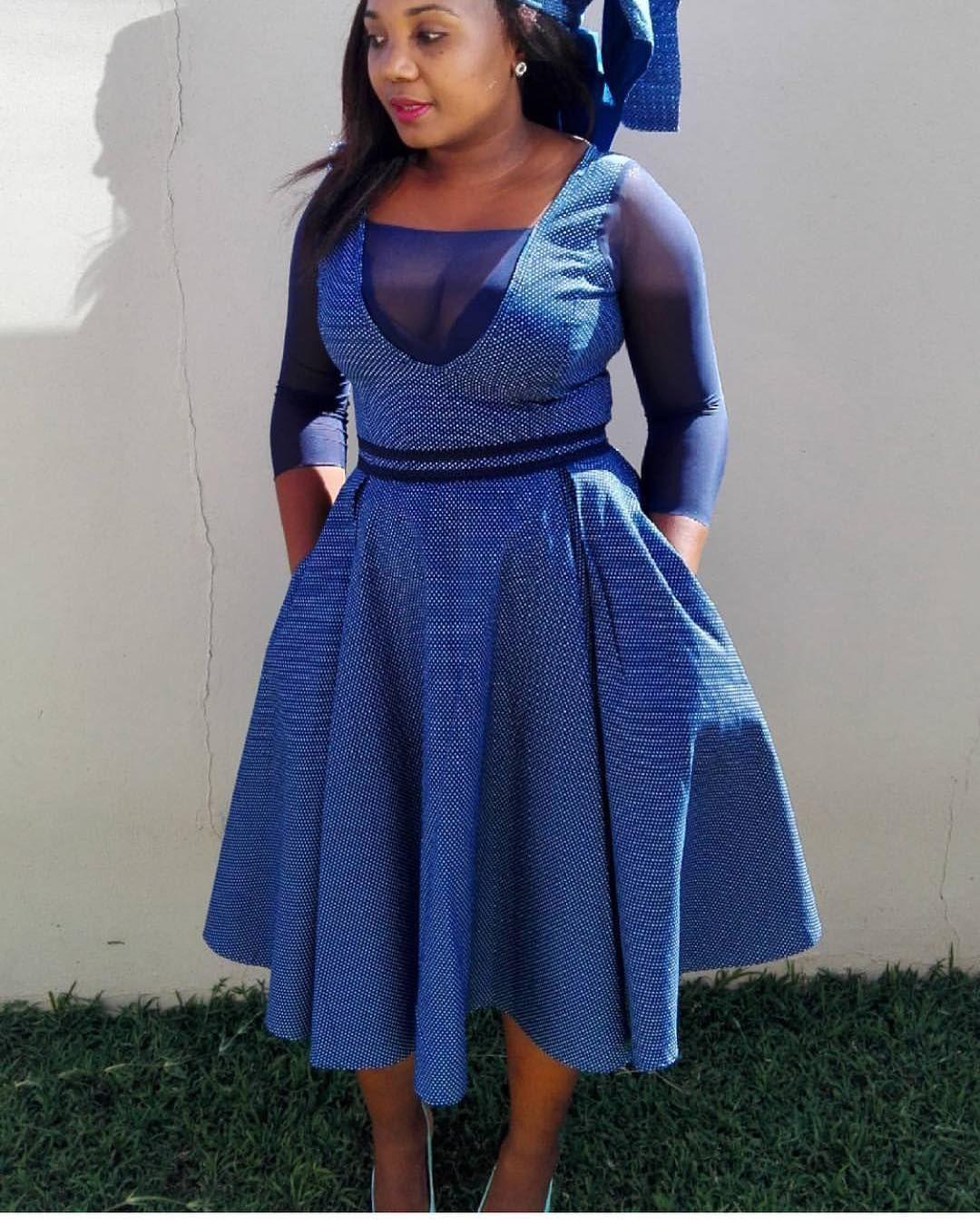 Shweshwe Dresses, African Dress