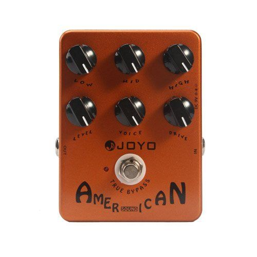Joyo JF-14 American Sound Effects Pedal with Fender Deluxe Amp Simulator and Unique Voice Control by Joyo. $40.00. Vintage is in! And there's no better way to prove it than with your guitar sound. The JF-14 American Sound pedal introduces the right kind of overdrive, just like an AlNiCo 12'' speaker pushed to the limits, adding more natural distortion to an already saturated tube. The sound you hear on the 60's surf classics, as well as the country and rockabilly hits from the 50...