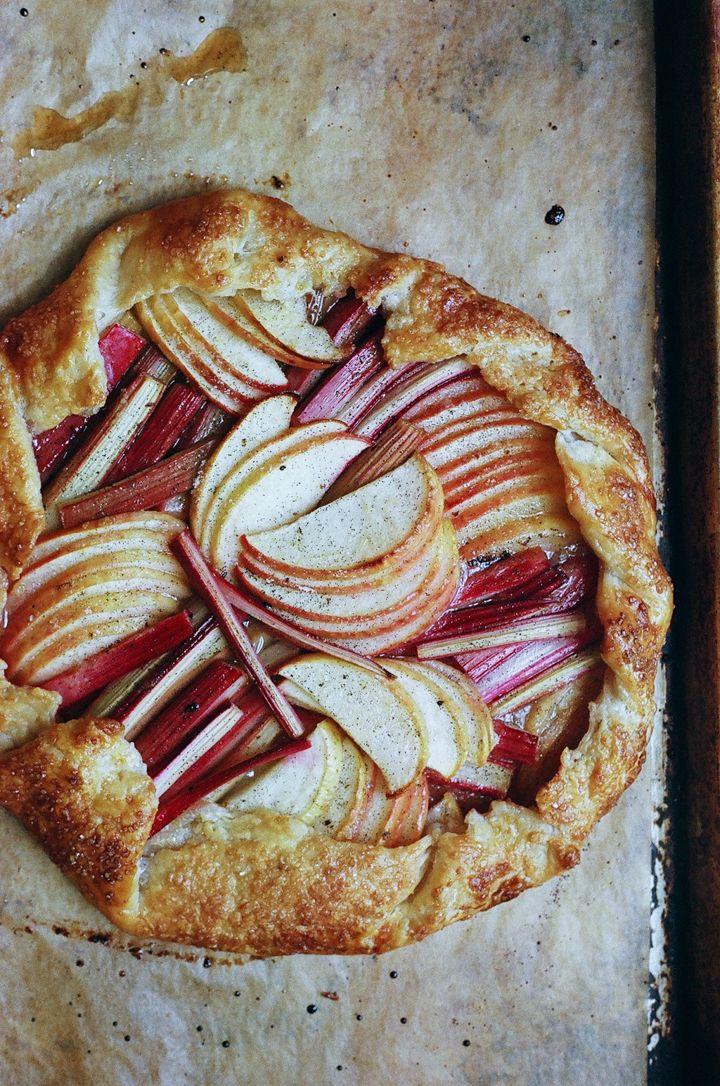 Rhubarb and Apple Tart — Apt. 2B Baking Co.