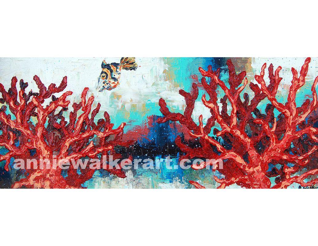 Sea Life - Artwork by Annie Walker