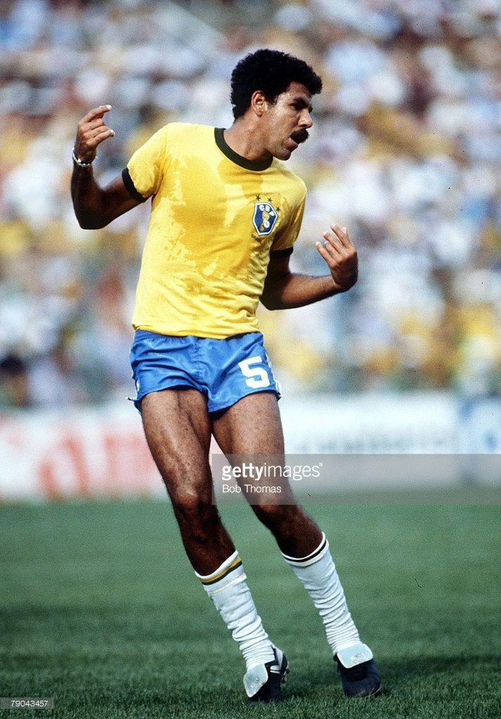 World Cup Finals, Second Phase, Barcelona, Spain, 2nd July, 1982, Brazil 3 v Argentina 1, Brazil's Toninho Cerezo