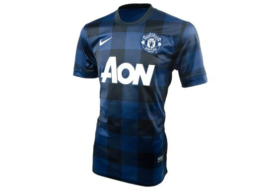 new style 128e1 8c60e The new Nike Manchester United Away Jersey for 213/14. Blue ...