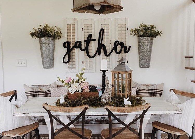 Gather Word, Wood Cut, Home Decor, Wall Art, Wall Sign, Business Decor, Kitchen Decor, Dining Room Decor