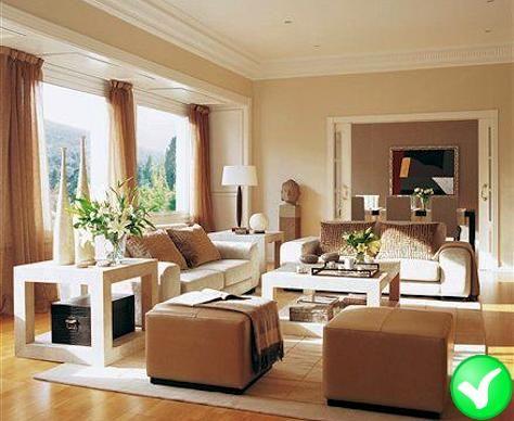 woonkamer met een goede meubelopstelling - Decoración del hogar ...