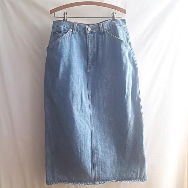 U.S Jean Club Vintage Denim Midi Skirt size 14