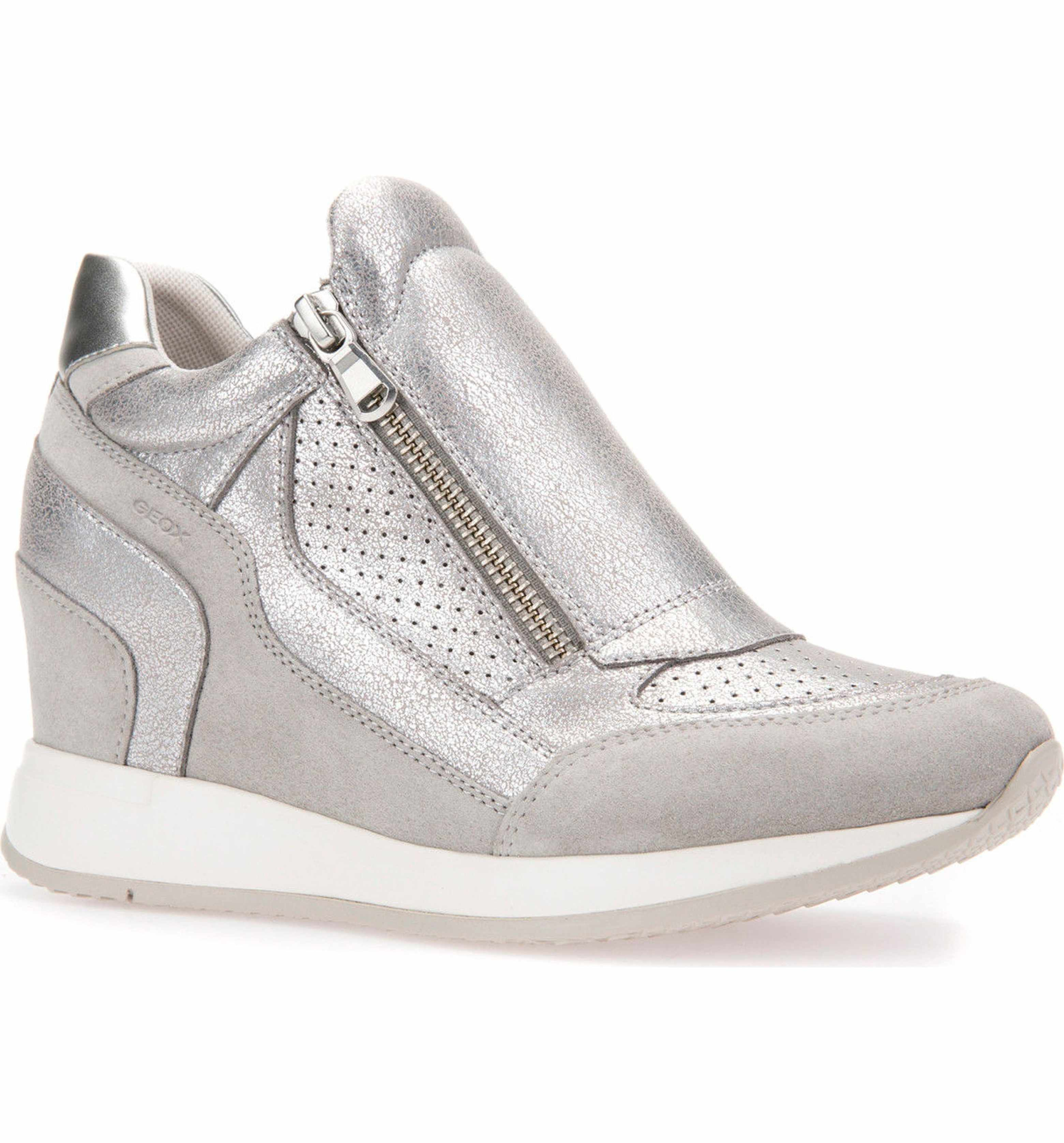 ed7be8c99e6 Main Image - Geox Nydame Wedge Sneaker (Women) | My Style | Sneakers, Wedges,  Shoes