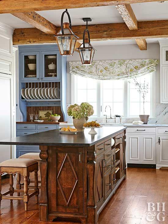 Pin de Alla * en Kitchen | Pinterest | Modelos de cocinas, Techos de ...