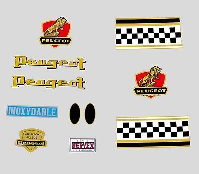 Peugeot 1960s Bicycle Frame Stickers Decals Transfers N 140 View More On The Link Http Www Zeppy Io Product Peugeot Bicycle Frame Bike Components