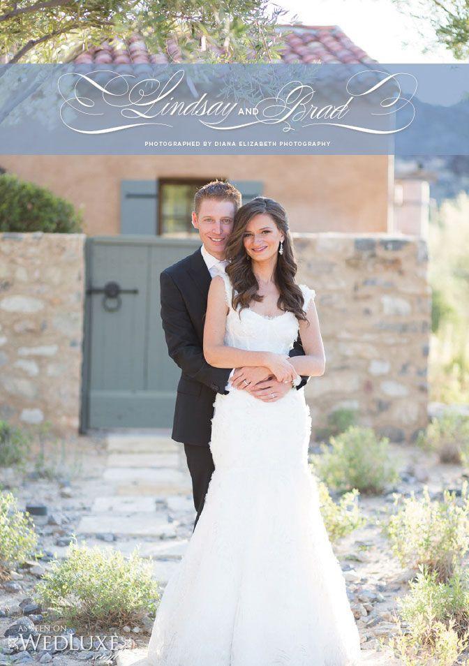 True Love, True Luxury: Lindsay & Brad | WedLuxe Magazine