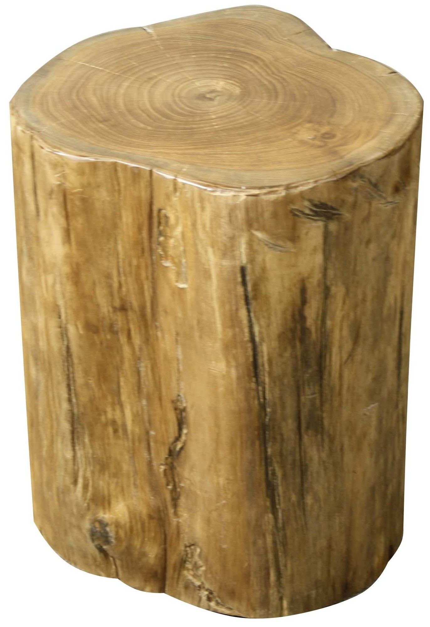 Tree Stump Low Accent Stool. Natural WoodCeramic ... Good Ideas