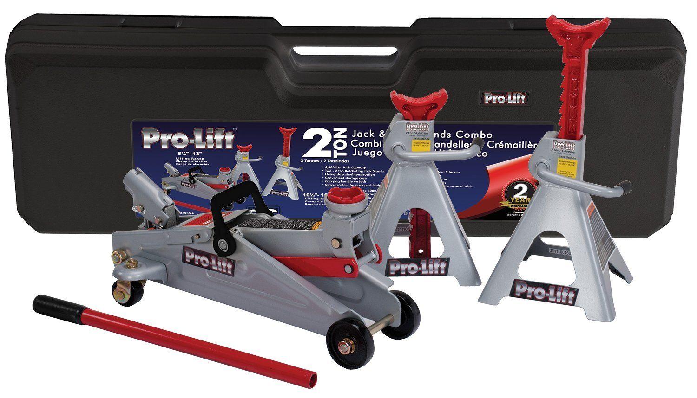 ProLift F2330BMC Grey Floor Jack and Stand
