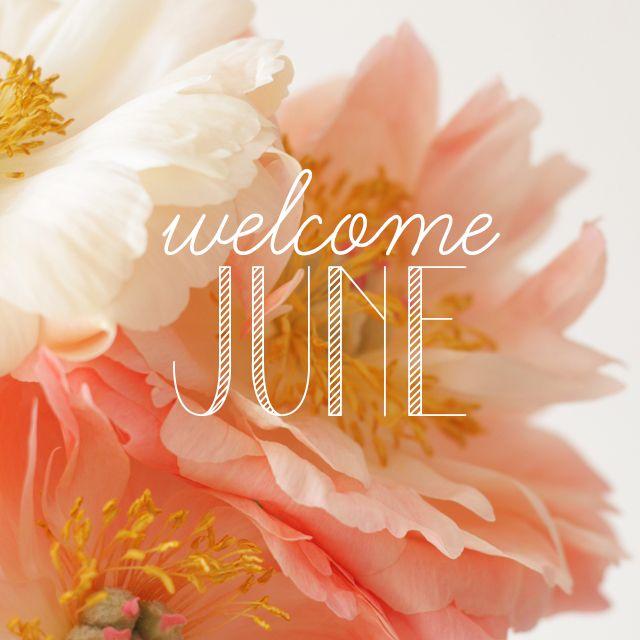 Welcome June Tomorrow On My Blog Blog Mliees Com Welcome June Hello June Happy June