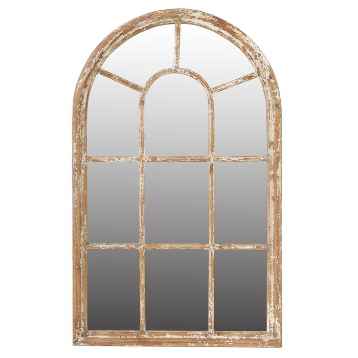 Arch Crowned Top Wall Mirror In 2019 Living Room