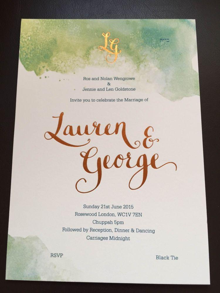 A Monique Lhuillier bride for an elegant black tie Jewish wedding at ...