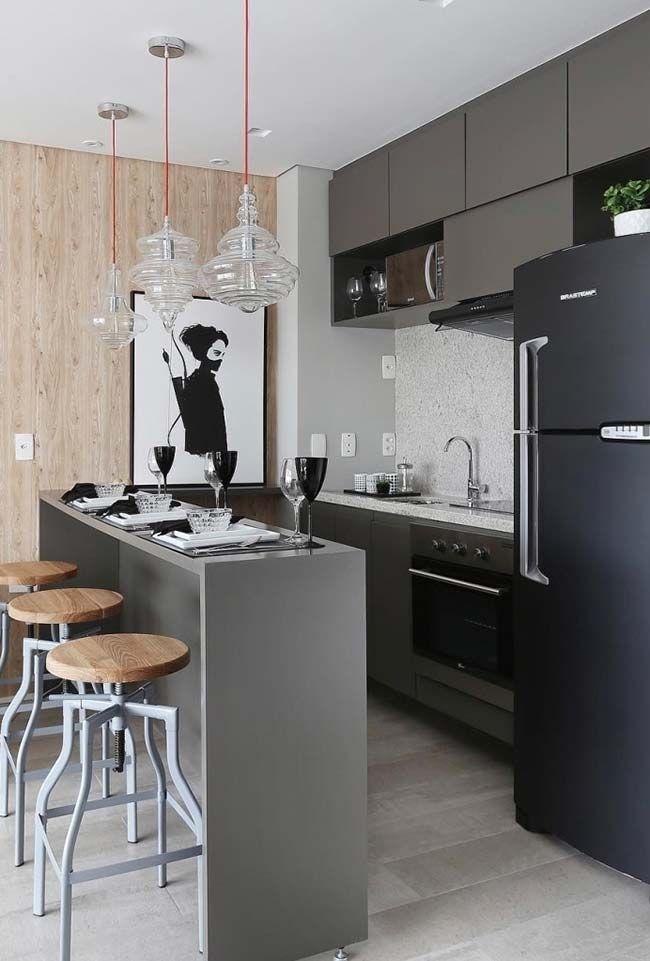 Cozinha pequena americana casas en 2018 pinterest for Cocinas chiquitas
