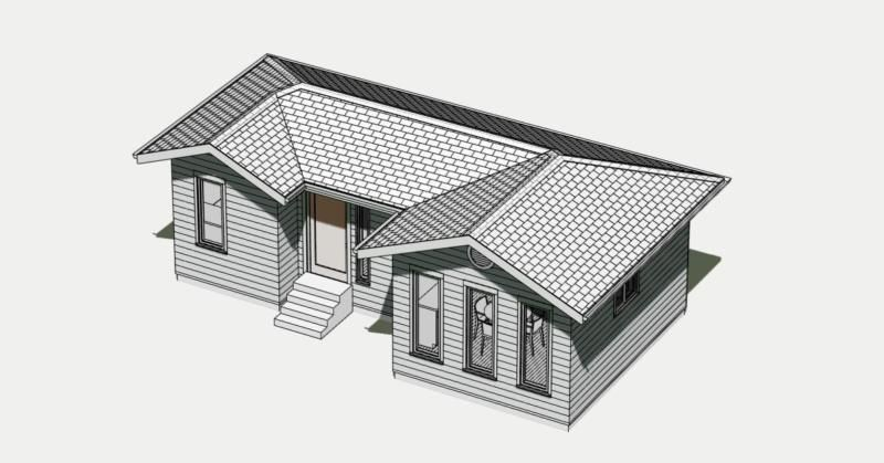 SMALL CABIN PLANS 400 SQ.FT WITH A  FREE ENERGY-SAVING CHECKLIST