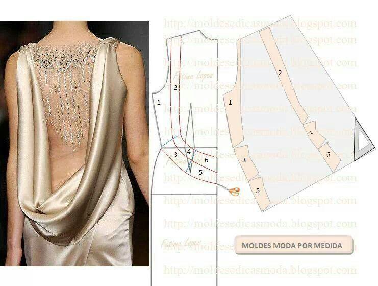 Corte y confección | toturial dress | Pinterest | Sewing patterns ...