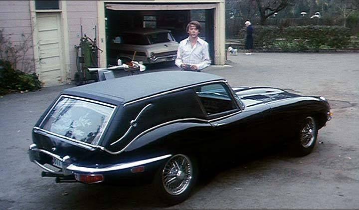 Jaguar type E - 1967 - corbillard -