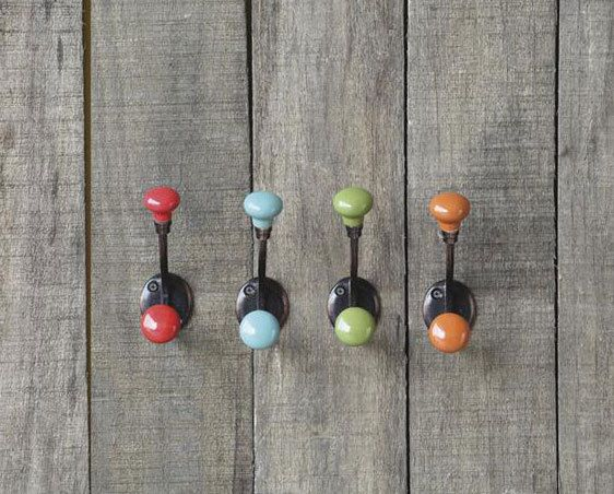 Colorful Wall Hooks colorful wall hook - google search | design | pinterest | ganci