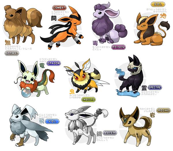 Les meilleurs evolutions m ga evolutions invent d 39 evoli pok mon pinterest evolution - Les mega evolution ...
