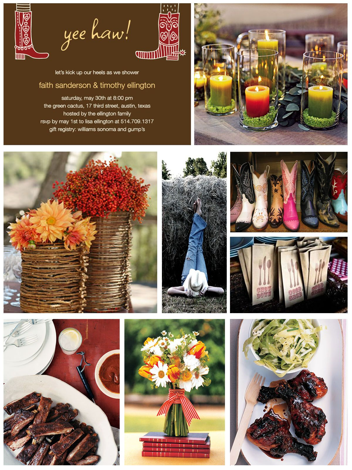 Western texas style themed wedding google search for Wedding party ideas themes