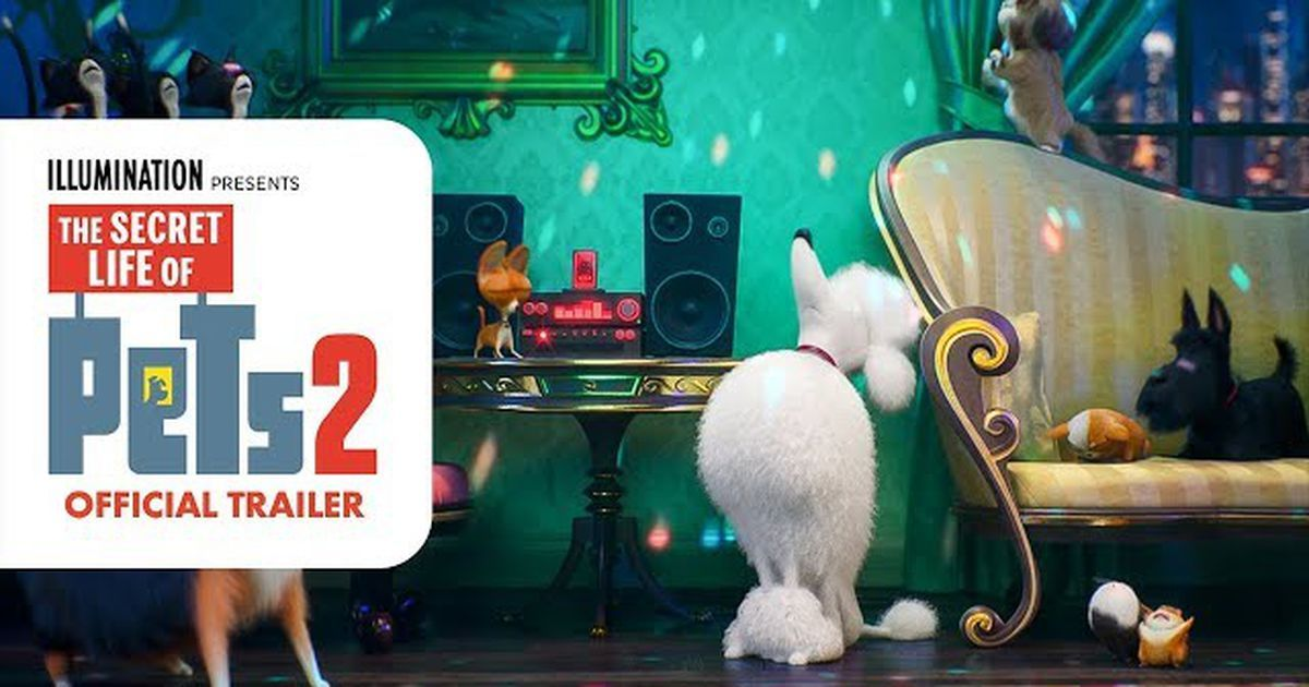 A Delightful The Secret Life Of Pets 2 Trailer Drops On National Pet Day Secret Life Secret Life Of Pets National Pet Day
