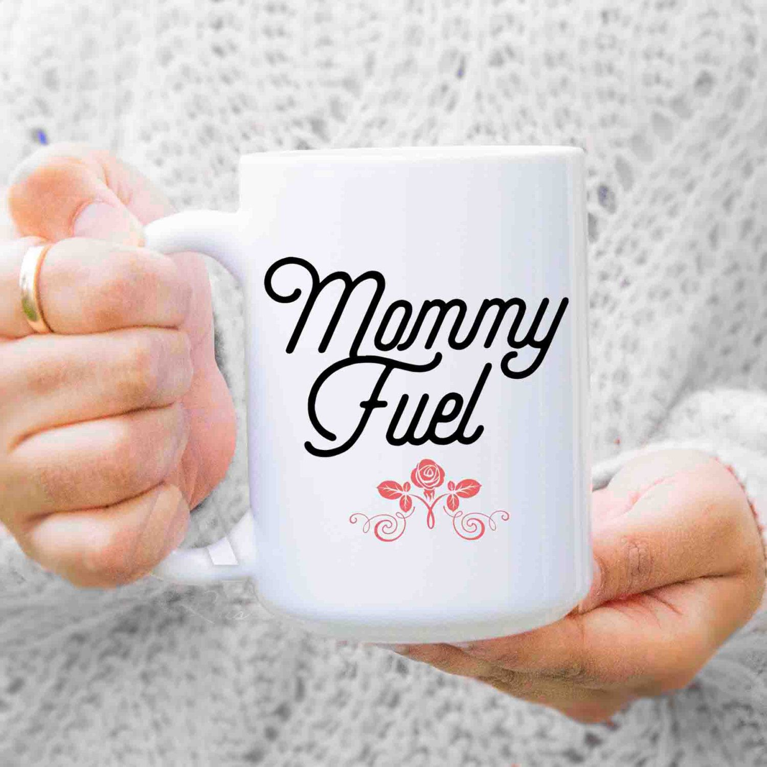 New Mom Gift Mother Mommy Fuel Coffee Mug Gifts Funny For Birthday From Husband Daughter MU388 By ArtRuss On