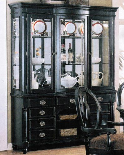 Images Of Black China Cabinets