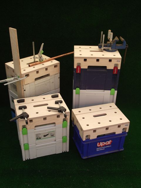 Systainer MFT Top Workbench