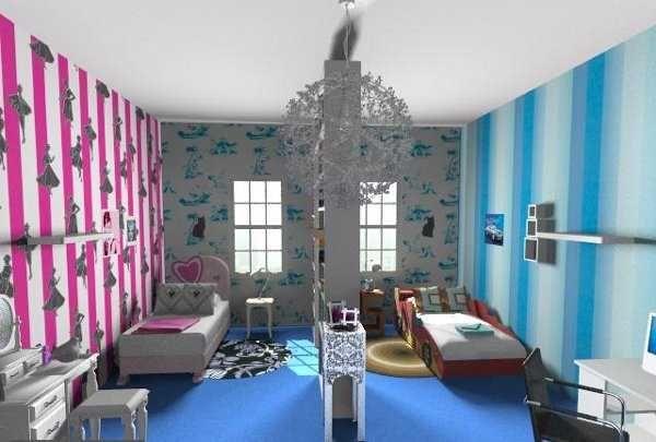 como decorar habitacion juvenil mixta Buscar con Google LU