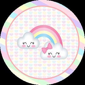 Fiestas Personalizadas Imprimibles: Kit para Imprimir Gratis Lluvia de Amor