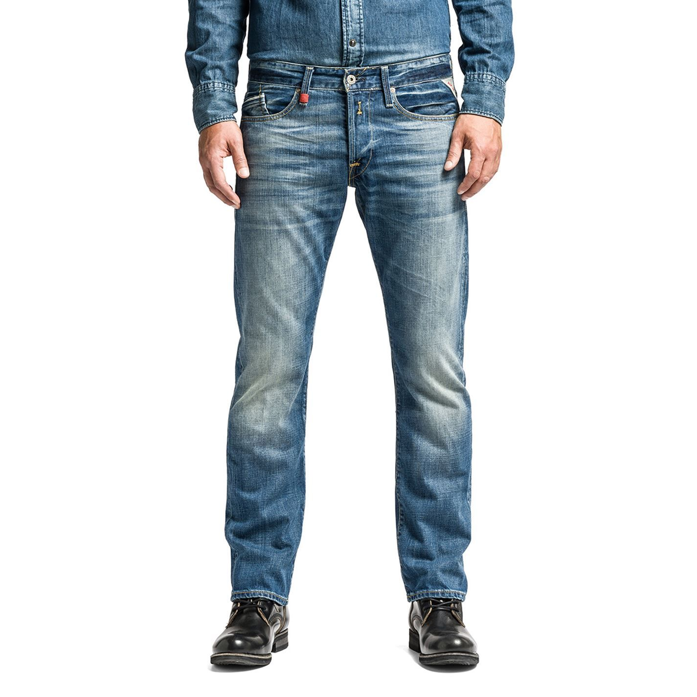 Mens Waitom Straight Jeans Replay For Sale Discount Sale Discount Excellent mablVyZ3qZ