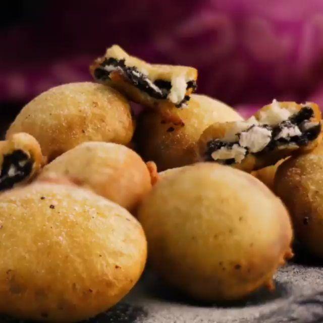 𝑶𝒓𝒆𝒐 𝑭𝒓𝒊𝒆𝒔 This Oreo Fries is the ultimate dessert recipe! Follow @worldtravelrecipe Follow .