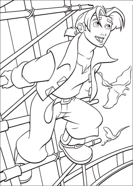 Treasure Planet 20 Coloring Page Free Book Pages Available For Printing Or Online