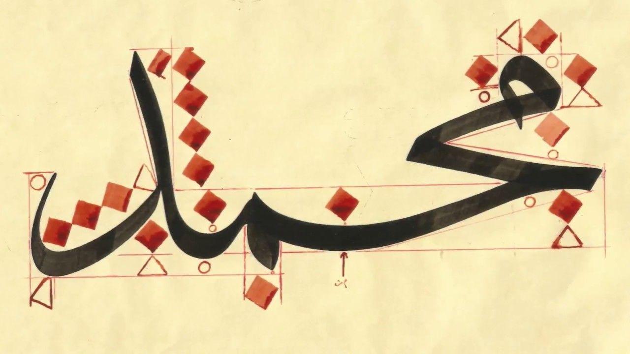 Image Result For محمد بخط الرقعة Calligraphy Art Art Calligraphy