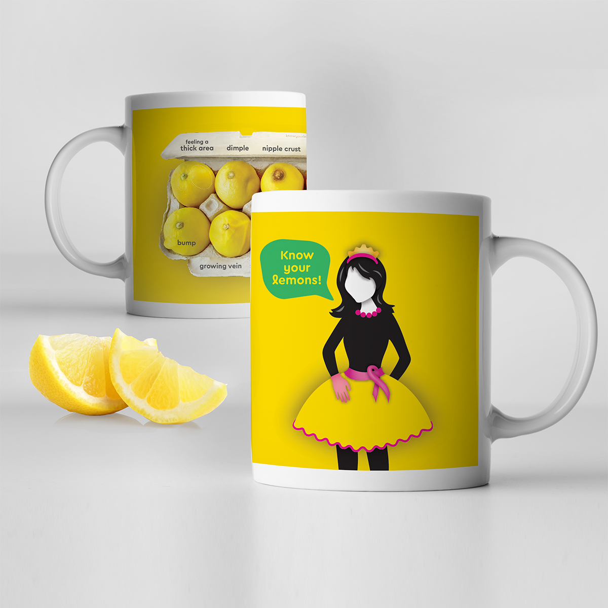 Pin on Breast Cancer Awareness—with Lemons