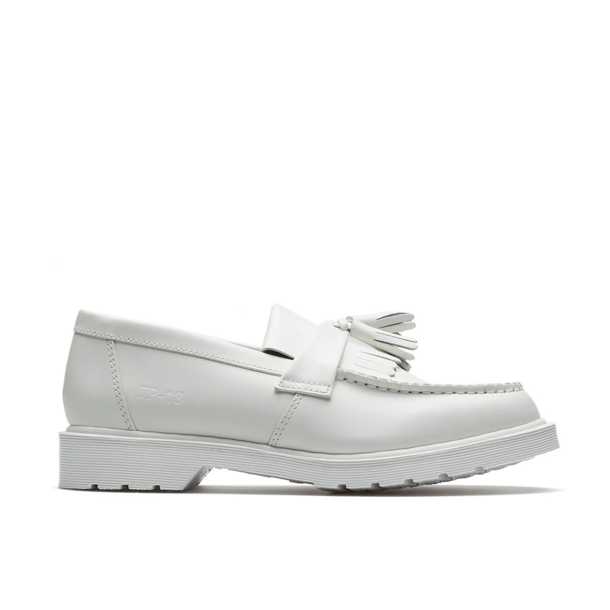 bb93aa6647bf Dr Martens Loafer shoes from the F W2018-19 Gosha Rubchinskiy collection in  white