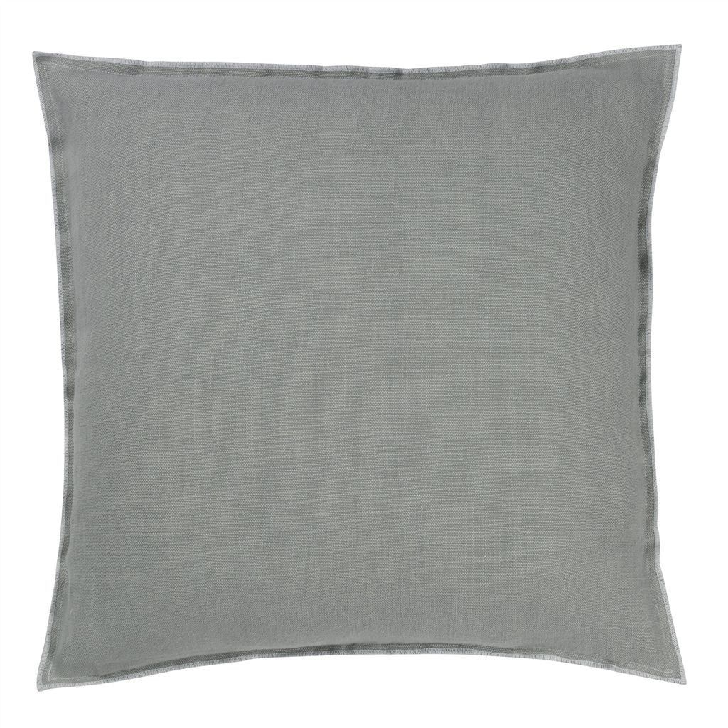 Brera Lino Zinc Pillow design by Designers Guild Products