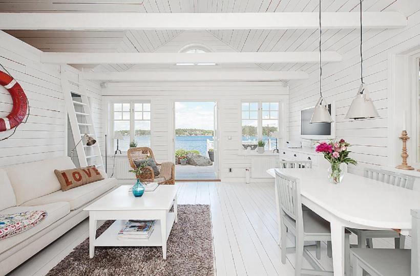 Renovated 1934 cottage in Sweden