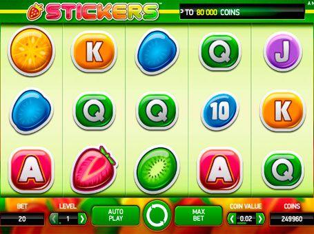 Описание stickers стикеры игровой автомат ответы