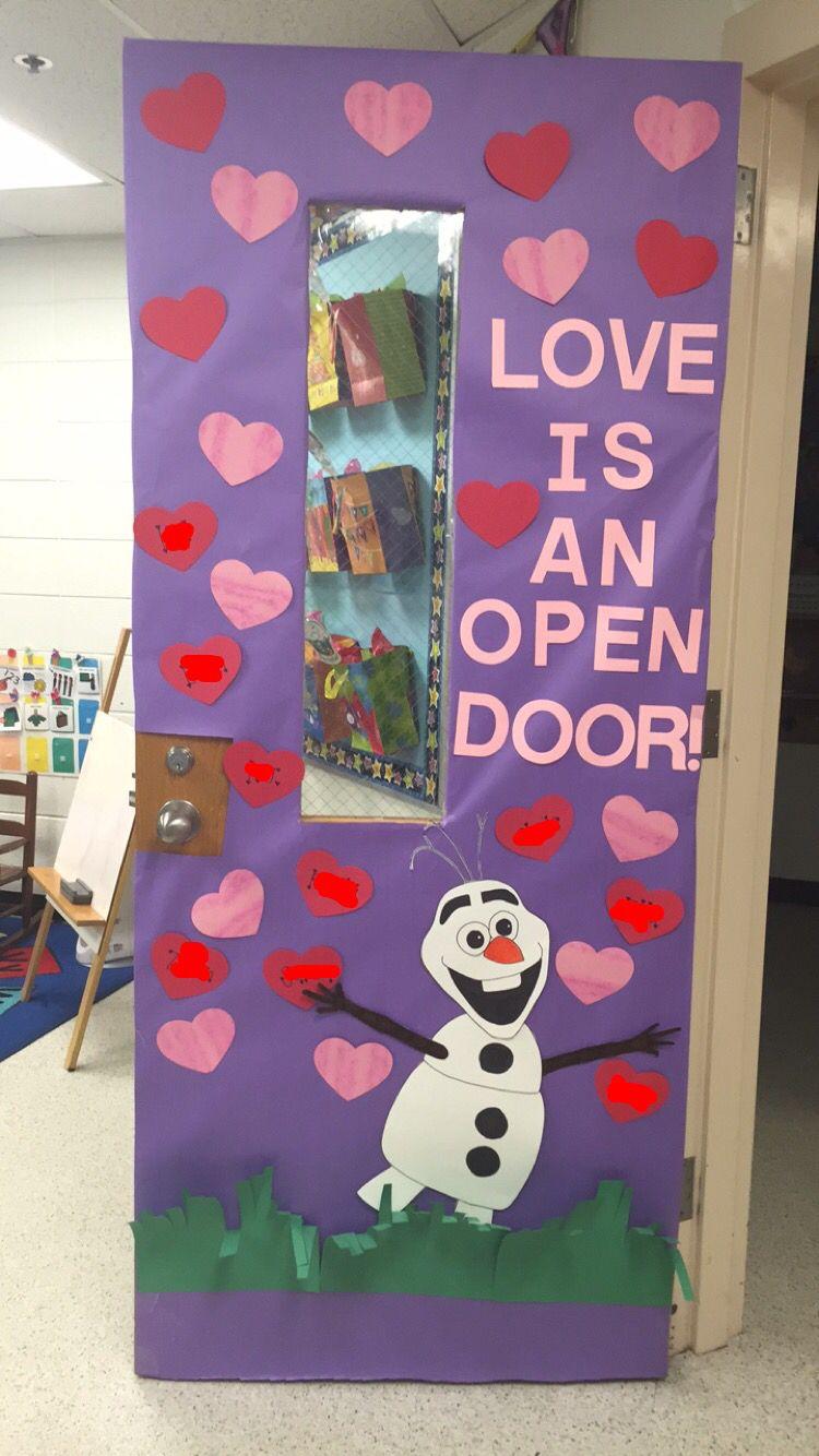 I Decorated The Door At My Internship With A Pinterest Inspir Valentines Door Decorations Classroom Valentines Classroom Decorations Door Decorations Classroom