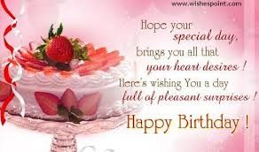 many many happy return of the day happy birthday dear wish you all the best godbless you