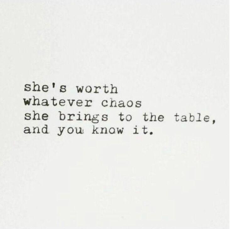 She's worth