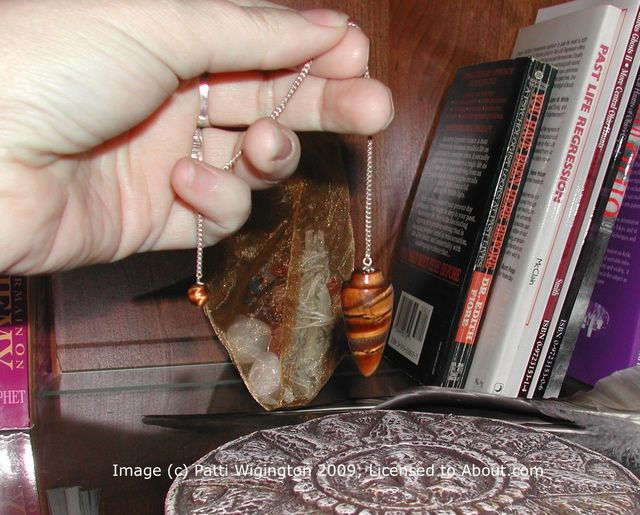 Learn to Use a Pendulum for Divination: Use your pendulum to get Yes or No answers.