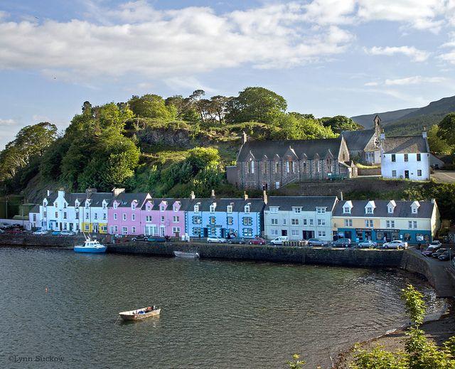 Picturesque Portree, Isle of Skye