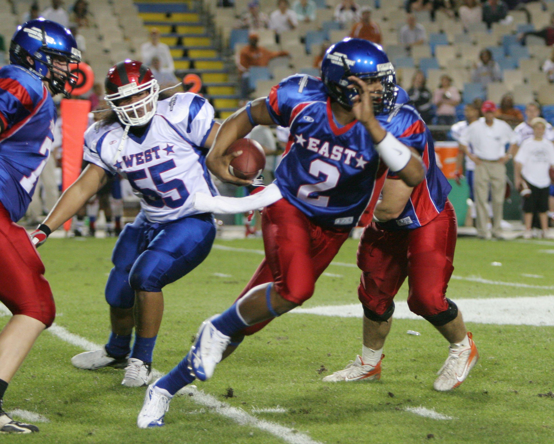 Cam Newton 2007 Offense Defense All American Bowl Football