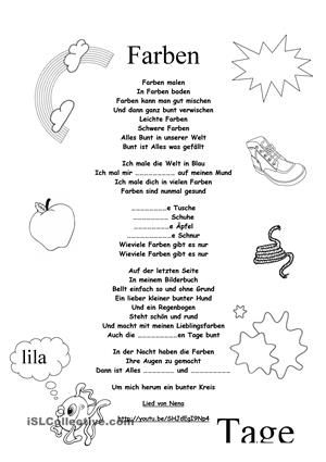 Farben | Pinterest | German resources and Worksheets