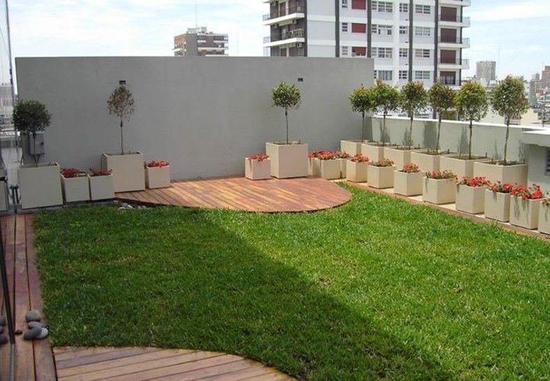 60 40 Terraza Jardín Colocación de jardines en terrazas terrazas